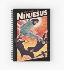 The Jesus Ninja Spiral Notebook