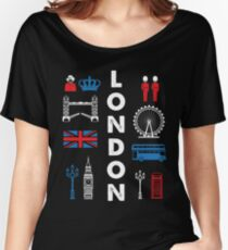 LONDON Capital city England Great Britain Women's Relaxed Fit T-Shirt