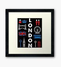 LONDON Capital city England Great Britain Framed Print