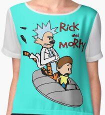 Rick & Morty Chiffon Top