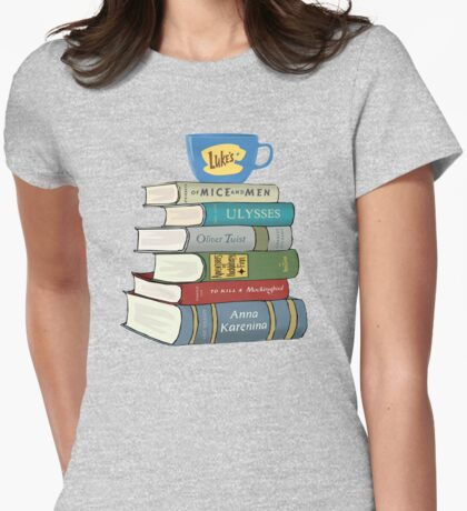 Rory's Books Womens Fitted T-Shirt