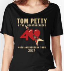 40th anniversary tour tom petty 1 Women's Relaxed Fit T-Shirt