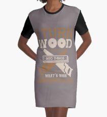 WOODWORKING SUPERPOWER T-SHIRT T-Shirt Kleid