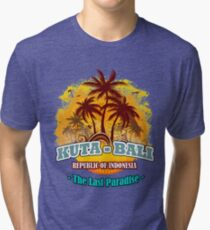 Kuta-Bali The Last Paradise Tri-blend T-Shirt