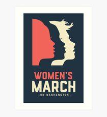 Women's March on Washington Official Art Print
