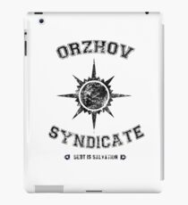 Orzhov Syndicate Guild iPad Case/Skin