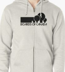 Boards Of Canada Zipped Hoodie