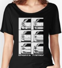 Sports family. Porsche 911 Women's Relaxed Fit T-Shirt