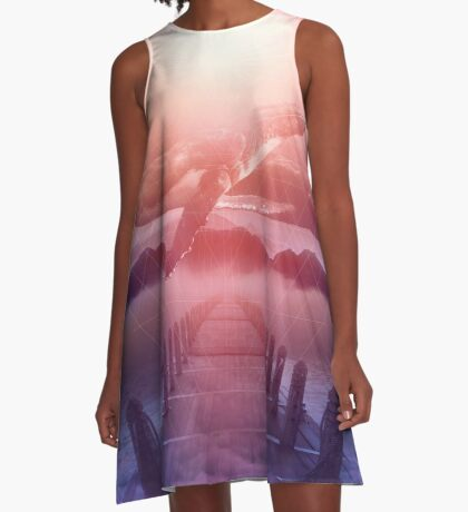 Space Between Dreams & Reality A-Line Dress