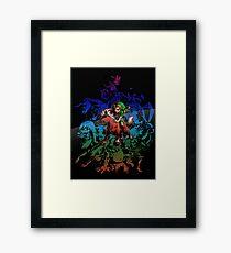 Majora's Mask - Colored Framed Print