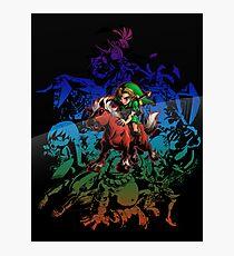 Majora's Mask - Colored Photographic Print