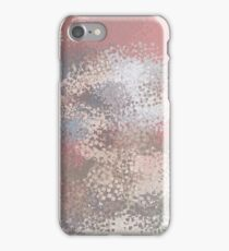 Abstract textured background iPhone Case/Skin