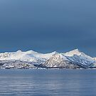 Snowy mountains by Frank Olsen