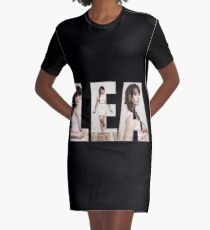 Lea Michele Graphic T-Shirt Dress
