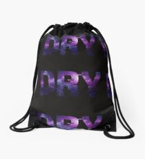 DRY Official Galaxy Logo Drawstring Bag