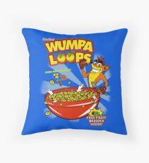 Wumpa Loops Throw Pillow