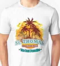 St. Thomas The Last Paradise Unisex T-Shirt