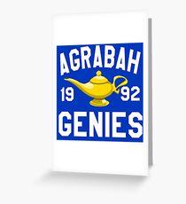 Agrabah Genies Greeting Card