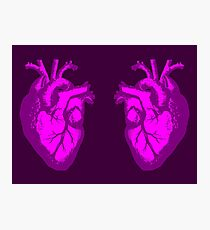 i heart heart the doctor Photographic Print