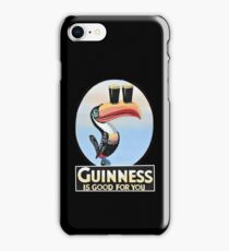 VINTAGE GUINNESS TOUCAN iPhone Case/Skin