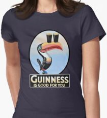 VINTAGE GUINNESS TOUCAN Womens Fitted T-Shirt