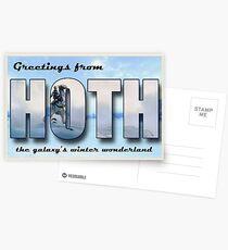 Hoth Postcard Postcards