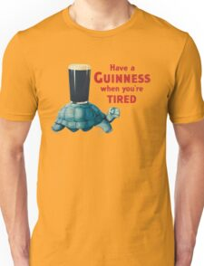 VINTAGE GUINNESS TURTLE Unisex T-Shirt