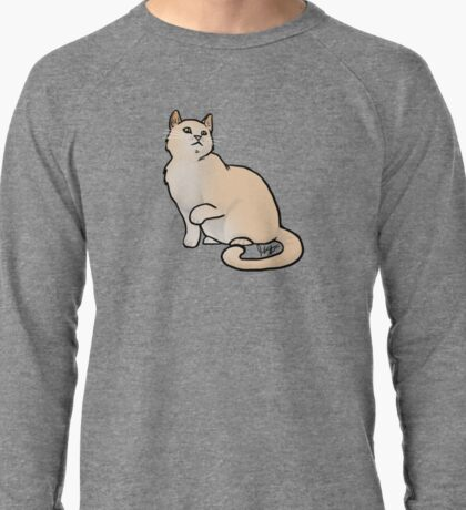 Big Yellow Cat Lightweight Sweatshirt