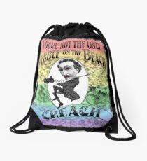 Not The Only Pebble 'General Audiences' - Second Edition Drawstring Bag