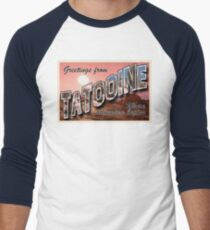 Tatooine Postcard Men's Baseball ¾ T-Shirt