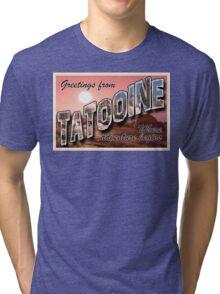 Tatooine Postcard Tri-blend T-Shirt