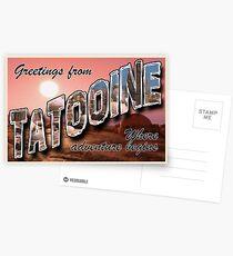 Tatooine Postcard Postcards