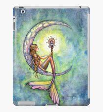"""Mermaid Moon"" Mermaid Art by Molly Harrison iPad Case/Skin"