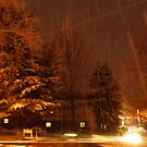 """A Snowy Evening in Knoxville"" (no.9, from this series)... products by © Bob Hall"