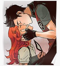 Robin and Starfire Poster