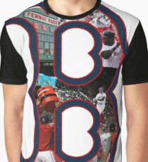 Boston Red Sox Collage Graphic T-Shirt