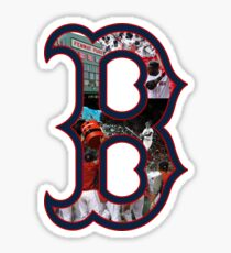 Boston Red Sox Collage Sticker