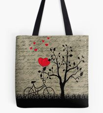 Liebesbrief Tote Bag