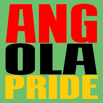 ANGOLA PRIDE by IMPACTEES