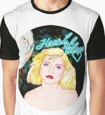 """BLONDIE """"Heart of glass"""" Graphic T-Shirt"""