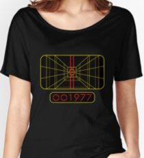 STAY ON TARGET 1977 TARGETING COMPUTER Women's Relaxed Fit T-Shirt