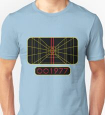 STAY ON TARGET 1977 TARGETING COMPUTER Unisex T-Shirt