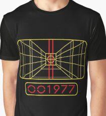 STAY ON TARGET 1977 TARGETING COMPUTER Graphic T-Shirt