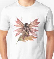 Autumn Drifting Fairy Fantasy Art Unisex T-Shirt