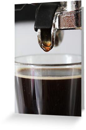 Espresso close up by portosabbia