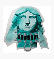 Statue of the EX Liberty Photographic Print