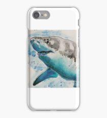 Watercolour shark iPhone Case/Skin