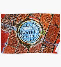 Mueller Water 1940 Poster