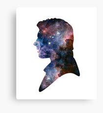 Han Solo - Galaxy Canvas Print