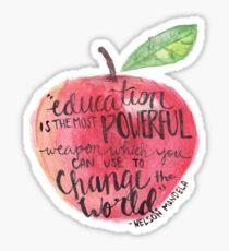 Teacher quote Sticker